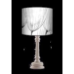 Dmuchawce Queen lampa stojąca drewniana Fotolampy