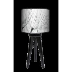 Dmuchawce lampa trójnóg drewniana mała Fotolampy