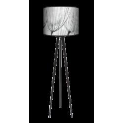 Dmuchawce lampa trójnóg drewniana duża Fotolampy