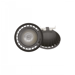 Żarówka czarna LED 10W AR111 Eko-Light