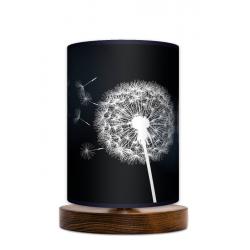 Sen nocy letniej lampa stojąca drewnianamała Fotolampy