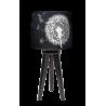 Sen nocy letniej lampa trójnóg drewniana mała Fotolampy