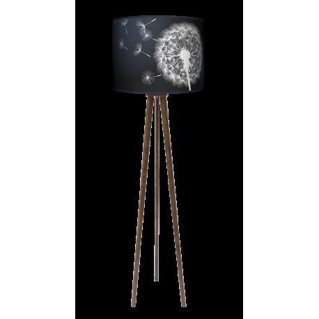 Sen nocy letniej lampa trójnóg drewniana duża Fotolampy