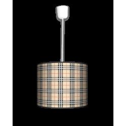 Kratka piaskowa lampa wisząca mała Fotolampa