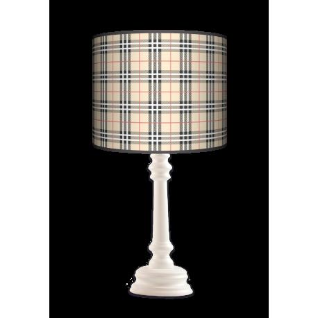 Kratka piaskowa Queen lampa stojąca drewniana Fotolampa