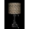 Kosz Queen lampa stojąca drewniana Fotolampy