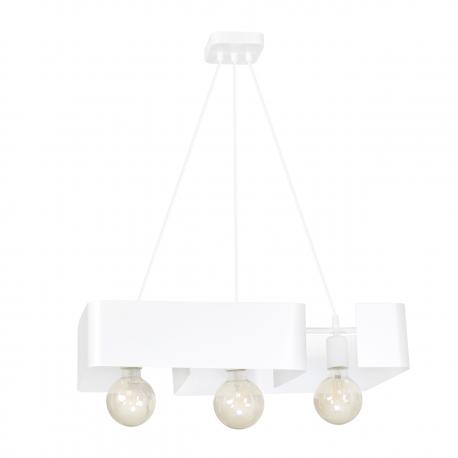 Koma 3 White lampa wisząca 631/3 Emibig