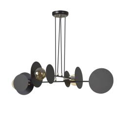 Idea 4 Black lampa wisząca 792/4 Emibig