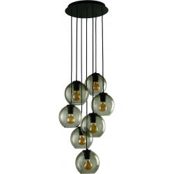 Vetro lampa wisząca czarna 9131 Nowodvorski