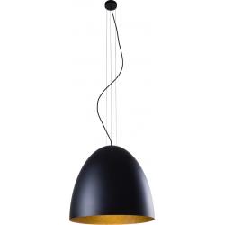 Egg L lampa wisząca czarna 9024 Nowodvorski