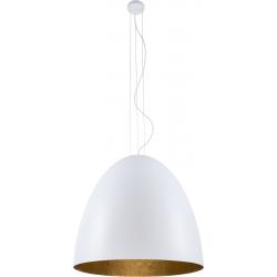 Egg XL lampa wisząca biała 9025 Nowodvorski