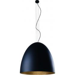 Egg XL lampa wisząca czarna 9026 Nowodvorski