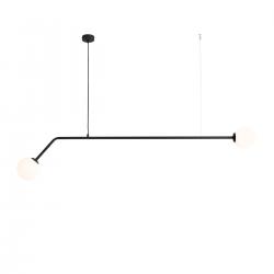 Pure lampa wisząca czarna 1064H1 Aldex