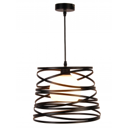 Akita lampa wisząca czarna 50101041 Ledea