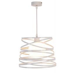 Akita lampa wisząca biała 50101042 Ledea