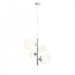 Balia Chrom lampa wisząca 1039L4 Aldex