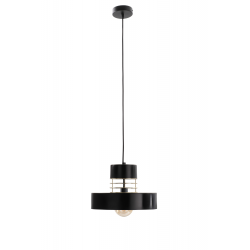 Bossi Black/Gold lampa wisząca 866 Keter Lighting