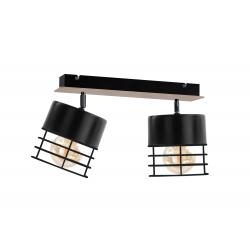 Casa Black plafon 796 Keter Lighting