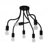 Flex Black lampa wisząca czarna 9273 Nowodvorski