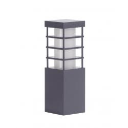 Rado II lampa stojąca mała ciemny popiel