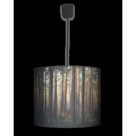 Las lampa wisząca duża Fotolampy