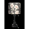 Kwiaty lampa queen drewniana Fotolampy