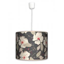 Kwiaty lampa wisząca duża Fotolampy