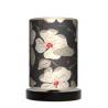 Kwiaty lampka drewniana mała Fotolampy