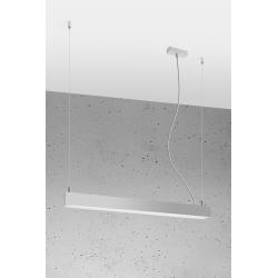 Pinne lampa wisząca aluminium Sollux