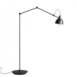 Aida Floor Black Gold lampa podłogowa 843A Aldex