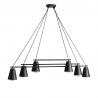 Arte black lampa wisząca 1008K1 Aldex