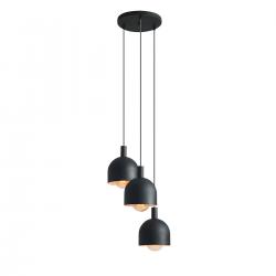 Beryl 3 Ring Black lampa wisząca 976E1/R Aldex
