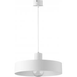 Rif lampa wisząca L biała
