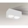 Yatomi lampa natynkowa biała 7134 Shilo