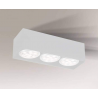 Yatomi lampa natynkowa biała 7135 Shilo
