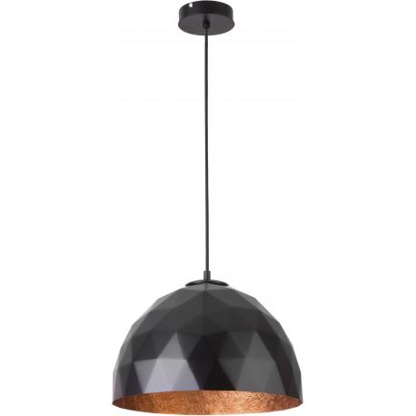 Diament lampa wisząca M czarnyy/miedziany