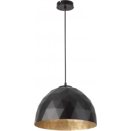 Diament lampa wisząca M czarnyy/złoty
