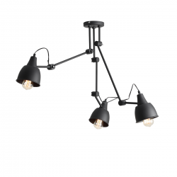Aida Floor Black lampa wisząca 842PL/G Aldex