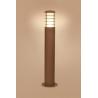 Horn lampa stojąca brązowa 4906 Nowodvorski