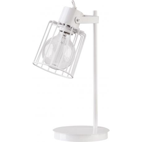 Luto Kwadrat lampka biała