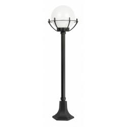 Kule z koszykiem 200 lampa stojąca średnia czarna
