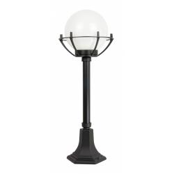 Kule z koszykiem 200 lampa stojąca mała czarna