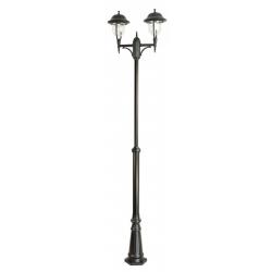 Prince lampa stojąca duża czarna
