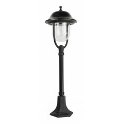 Prince lampa stojąca średnia czarna