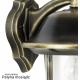 Prince lampa stojąca mała czarna
