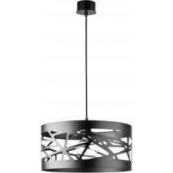 Moduł Frez lampa wisząca czarna L