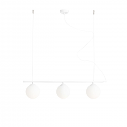 Beryl Glass White lampa wisząca 1006E Aldex