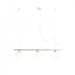 Beryl Glass Chrome lampa wisząca 1006E4 Aldex