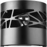 Moduł Frez kinkiet czarny 31078 Sigma