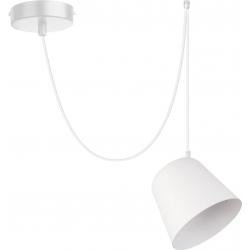 Jawa lampa wisząca 1 biała 31383 Sigma
